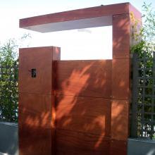 Puerta y portal cierre